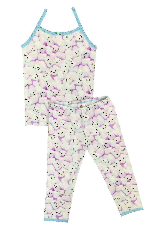 db94fad1f6 Esme Girls Sleepwear Camisole Leggings Set Girls the most Comfortable Cute  sleepwear --Camisole Leggings