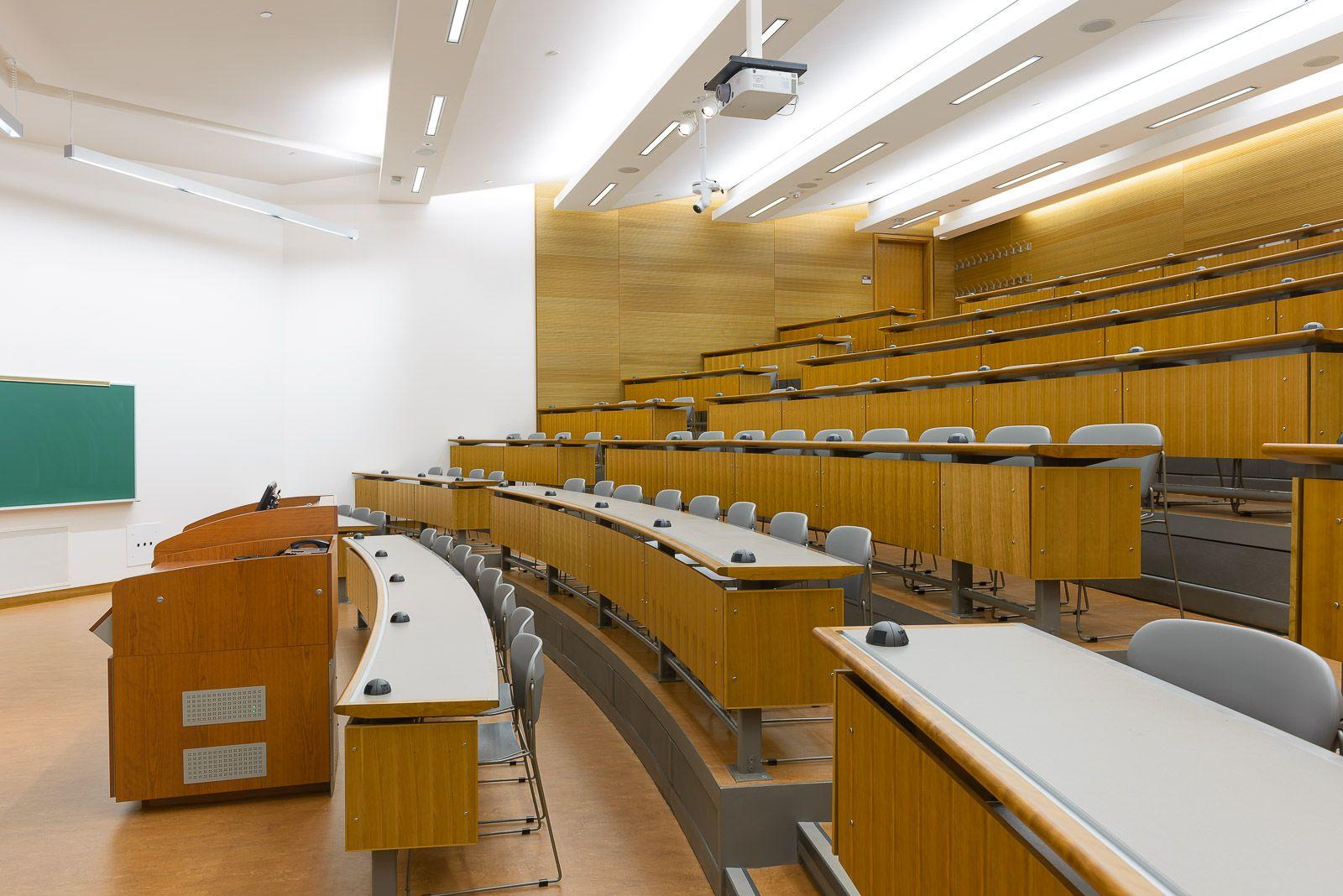 lighting inspiration school university lecture hall design