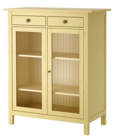 Linen Cabinet From Ikea Someday I Want A Cabinet Similar To This With Glass Front Doors To Store Homemade Qu Linen Cabinets Linen Cabinet Yellow Cabinets