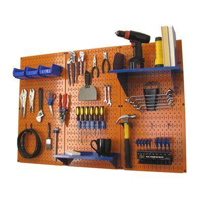 wall control wall mounted organization 30wrk400 steel on wall control id=39074
