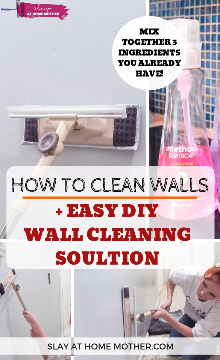 How To Clean Walls Without Removing Or Discoloring Paint Cleaning Walls Window Cleaning Tips Washing Walls