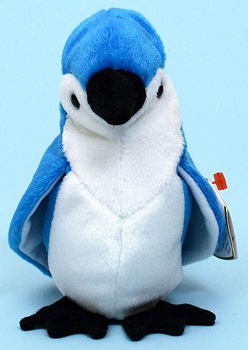 d64acc6fa2e Rocket - blue jay - Ty Beanie Babies