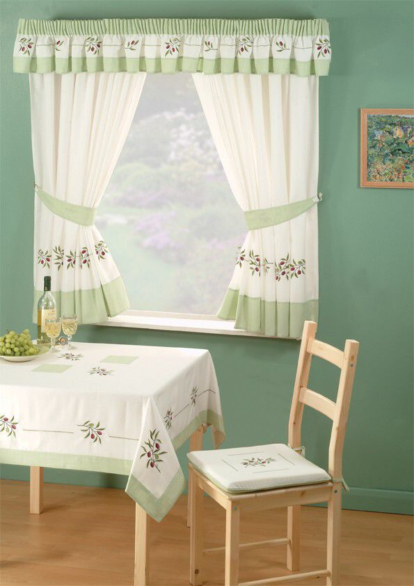 Kitchen Window\'s Curtain For Privacy And Decoration | Tende ...