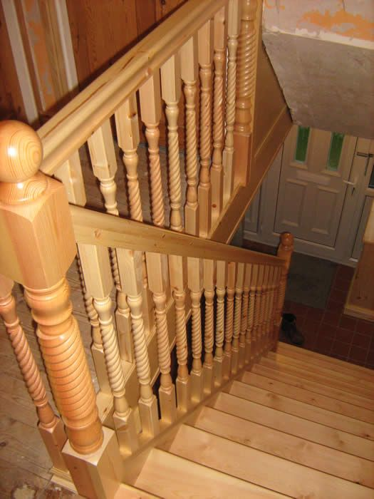 Best Staircase With Barley Twist Balustrading By Richard Merrin 400 x 300