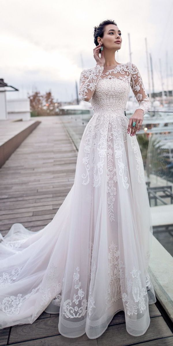 30 Best Lace Wedding Dresses With Sleeves | Wedding Dresses Guide