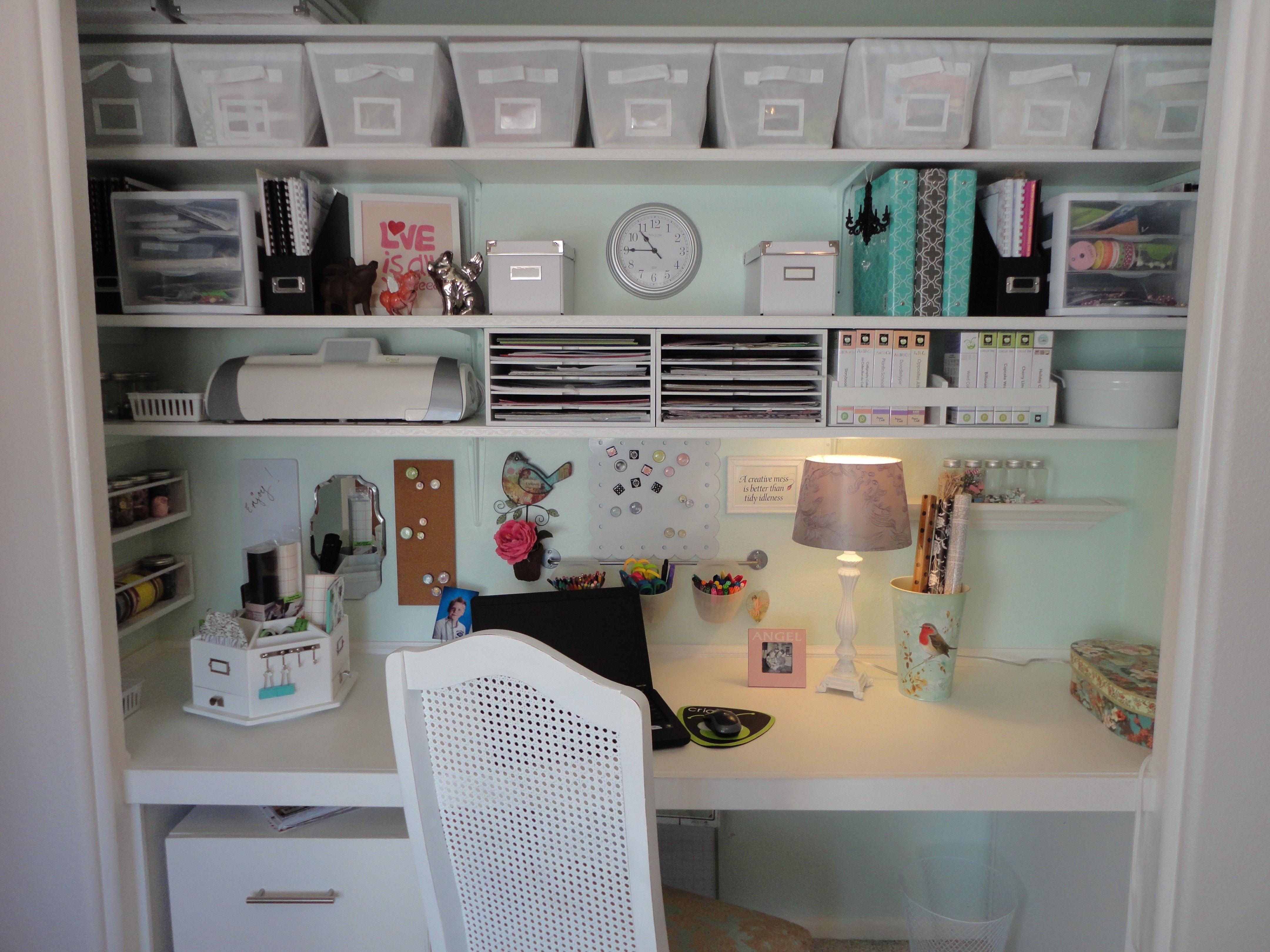 My New Craft Closet Closet Room Organizer Craft Room Closet Craft Room Storage