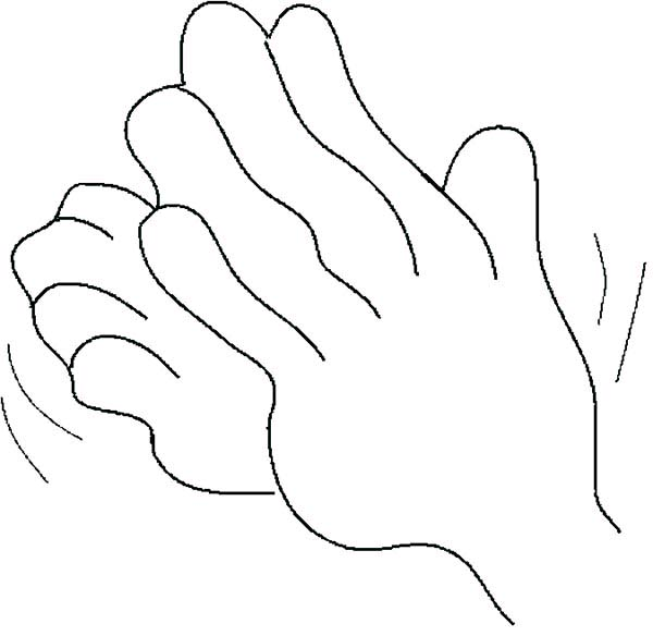 Hands Clapping Hard Coloring Pages Best Place To Color Coloring Pages Hand Coloring Color