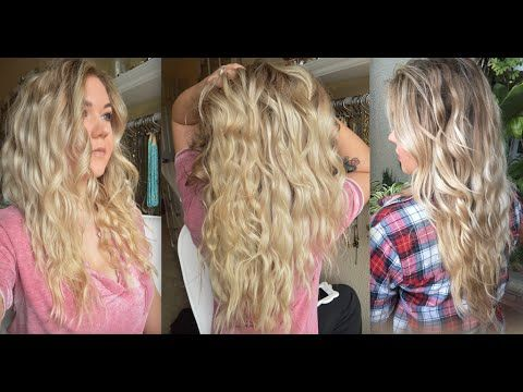 5 Ways To Style Your Hair While You Sleep So You Can Savor Your Shut Eye Videos Beach Wave Hair Hair Without Heat How To Curl Your Hair