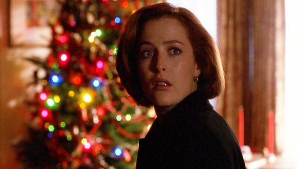 Dana Scully in the episode a Christmas Carol