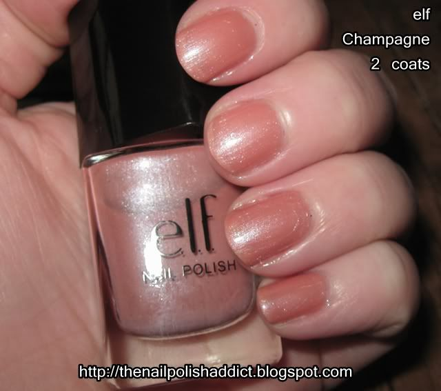 Elf Champagne [A11] | My Collection | Pinterest | Elves and Swatch