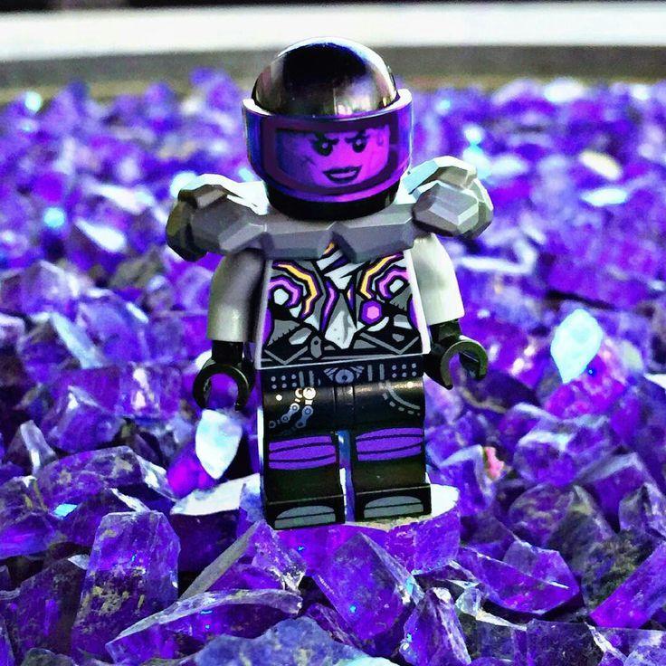 #Ninjago - Ultra Violet minifigure #coloroftheyear # ...