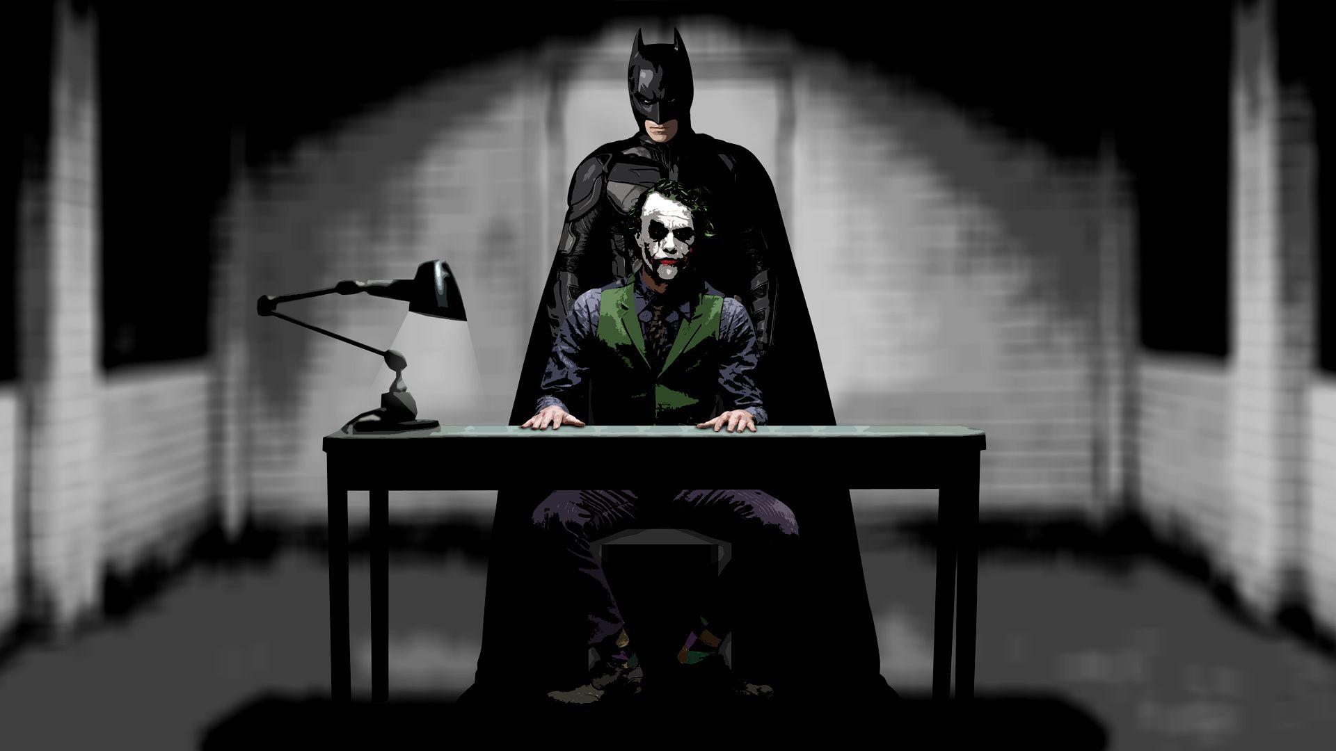 Joker Interrogation Batman Joker Wallpaper Joker Wallpapers Batman Wallpaper