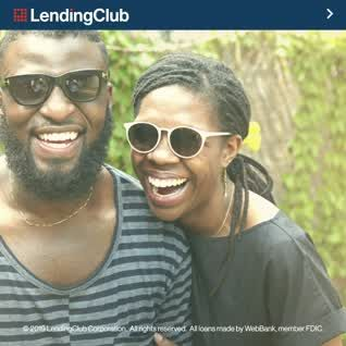 If lingering credit card debt is making it hard to enjoy everyday life, a personal loan through LendingClub could help!