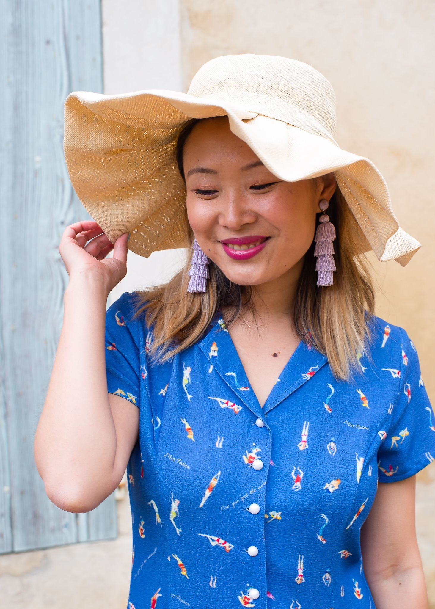 Provence Style Outfit Topshop London Miss Patina Dress   Provence France style   Provence travel outfits