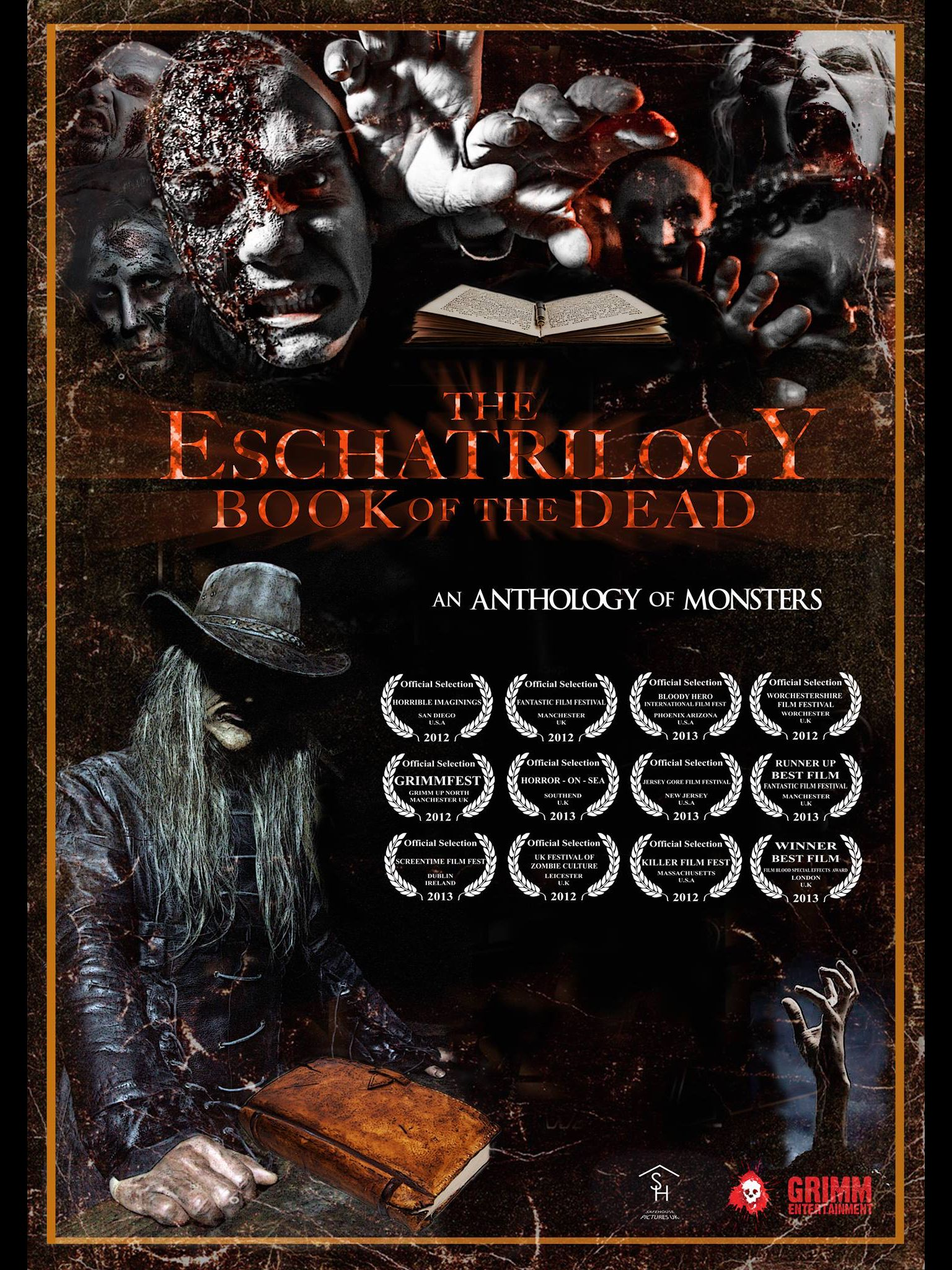 Poster for The Eschatrilogy