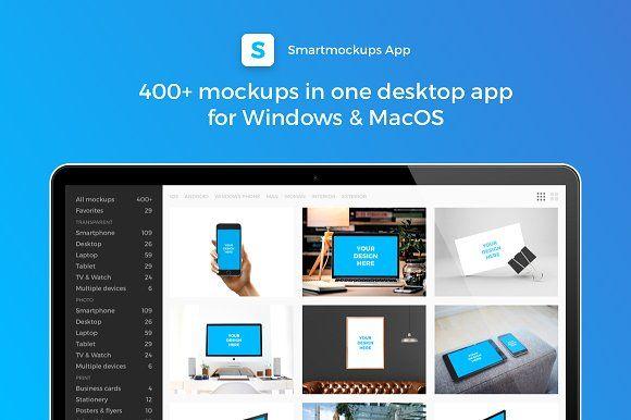 Smartmockups App Windows Mac Graphics Smartmockups App Is A Desktop App For Mac Windows The Easiest Way To Creat App Branding Mockups Packaging Mockup