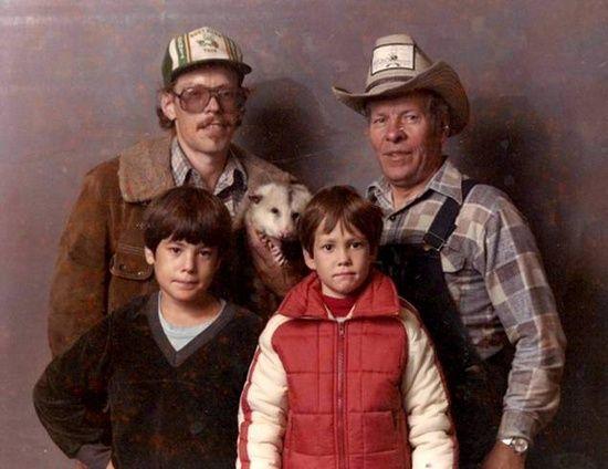 Hillbilly Family Photos | Funny Bone | Funny family photos