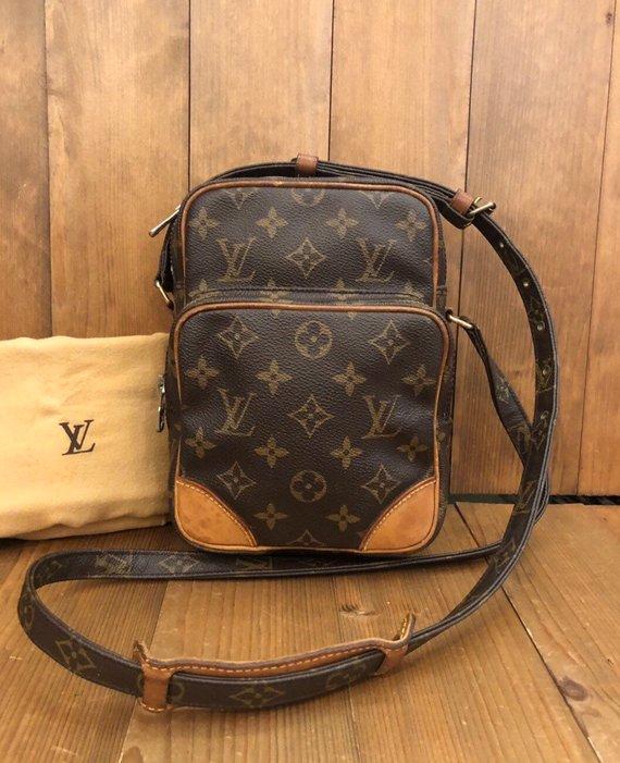 a1cb222c8e24 Authentic LOUIS VUITTON Monogram Amazon Crossbody Bag