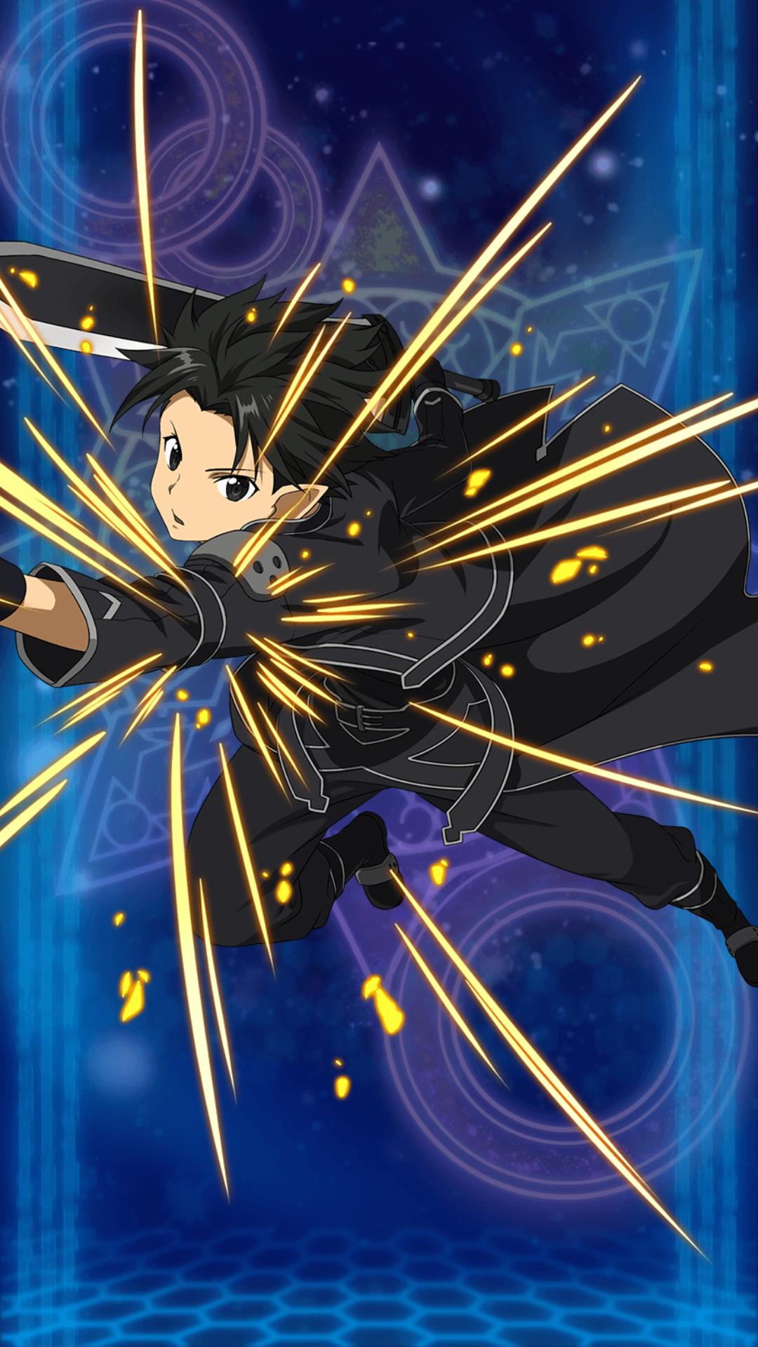 """Kirito """"Personaje Primerizo de Alfheim""""  Una vez entrado alfheim este el personaje con el que kirito compra su equipamiento y busca asuna en los pisos del arbol de mundo dentro de Alfheim Online"""