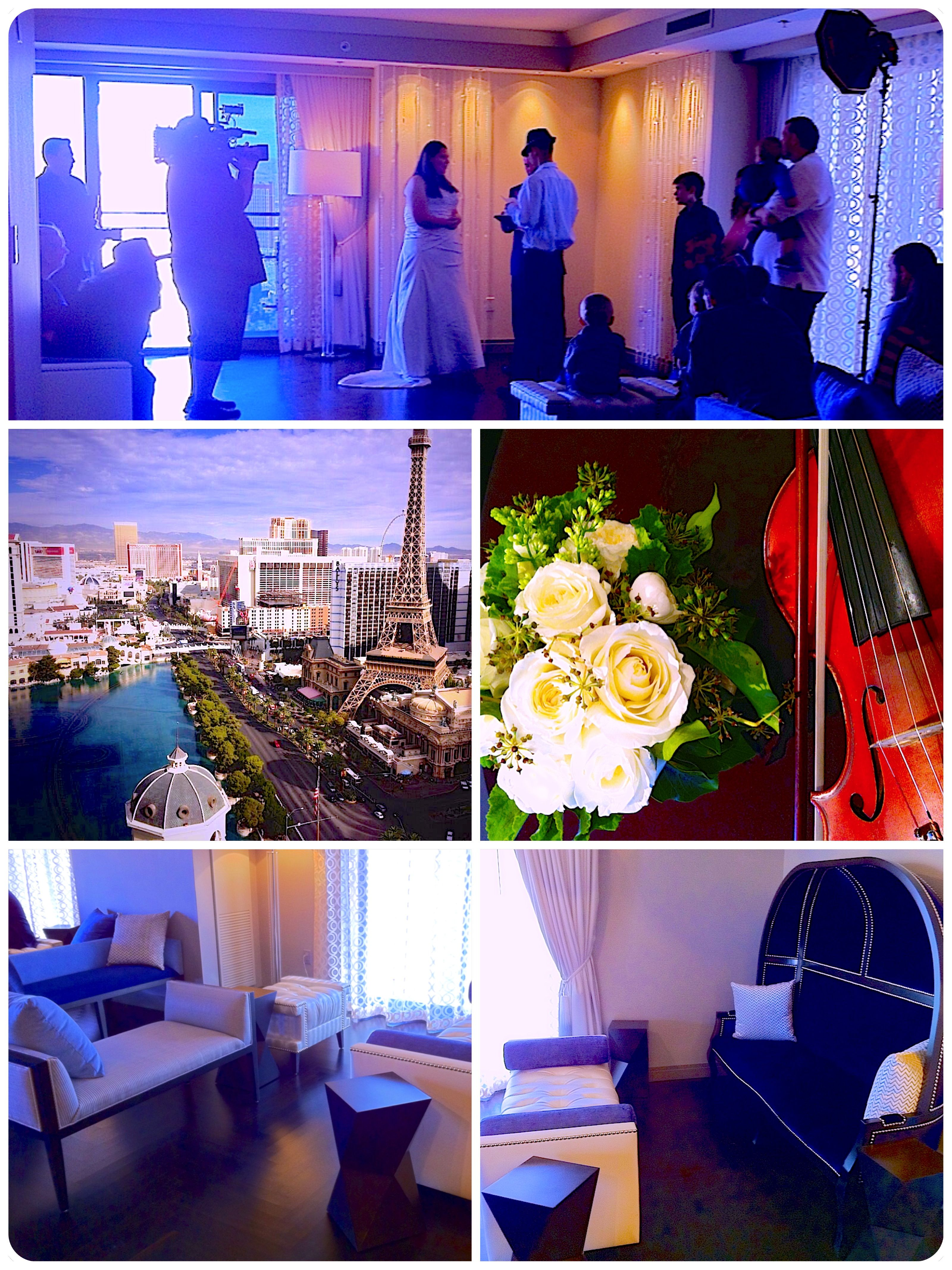 A Suite Wedding At The Cosmopolitan Of Las Vegas