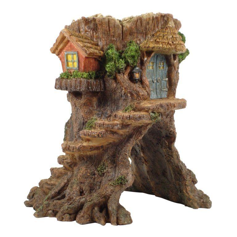 Fairy tree house fairy garden fairy garden houses
