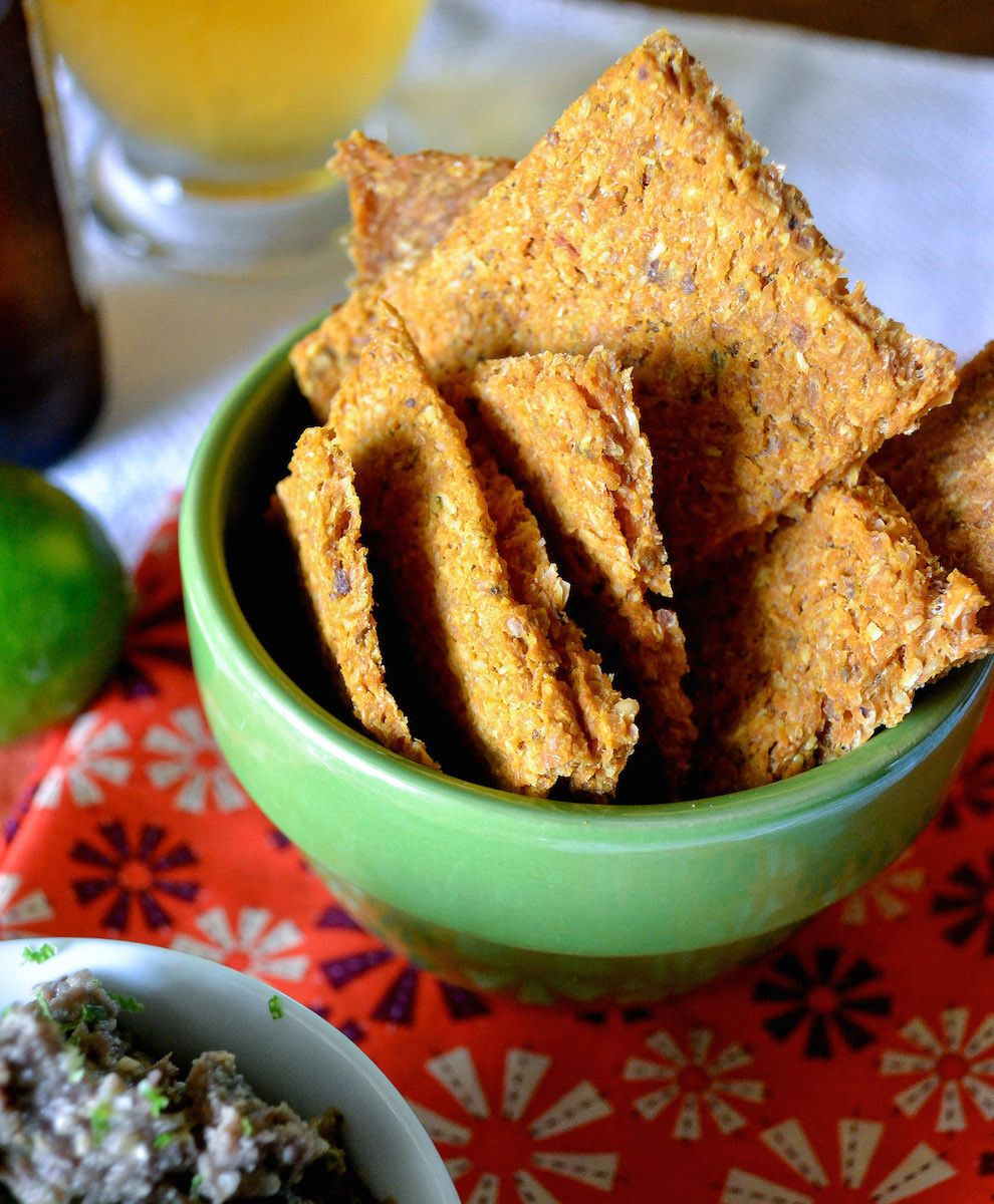 Chipotle Cheez Chips Vegan snacks, Food processor
