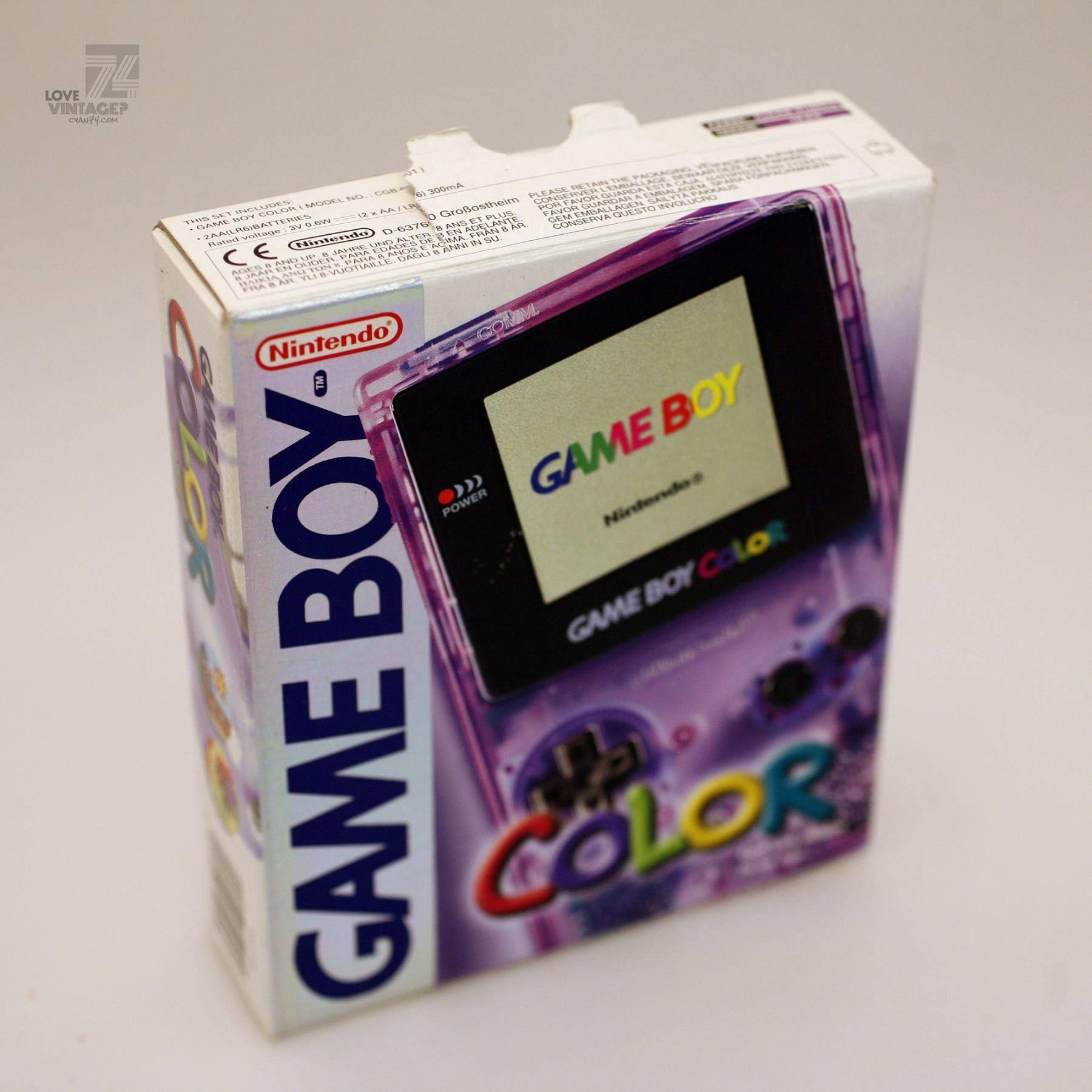 Game boy color kaufen - Nintendo Gameboy Color Konsole Ovp Cyan74 Com Vintage Pop Culture