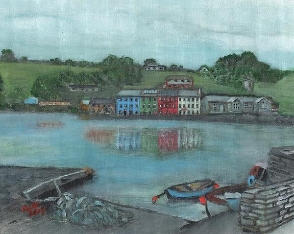 This is a view of Bantry, Ireland.