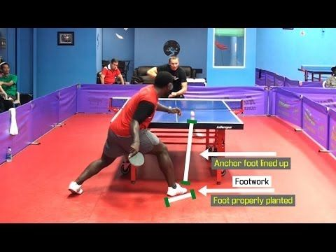 The Perfect Forehand Loop Hd Ping Pong Table Tennis Table Tennis Tennis