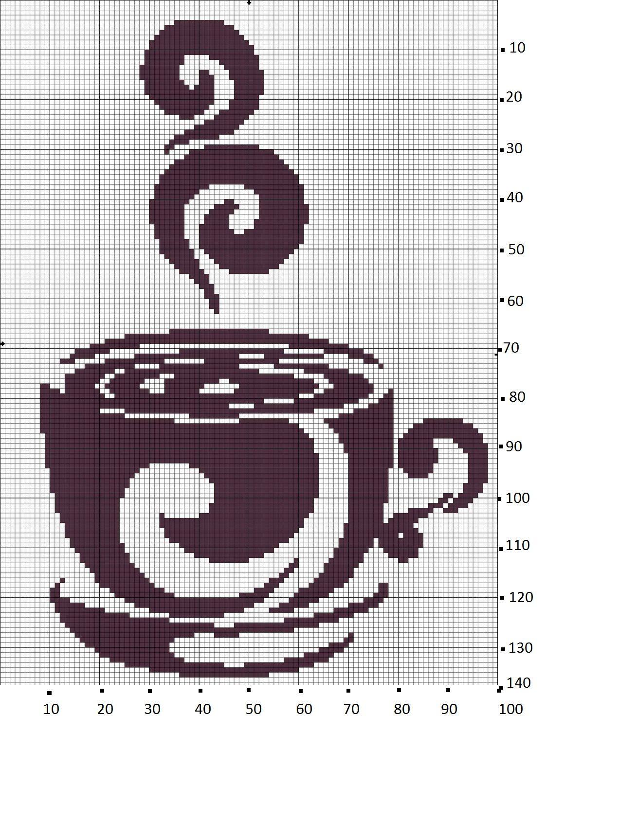 Pin de Liza Doukata en Coffi ( καφές ) | Pinterest | Punto de cruz y ...