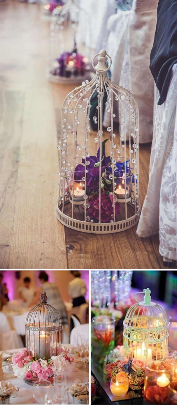 Ideas para decorar tu boda con velas wedding decor ideas for Decorar jarrones con velas