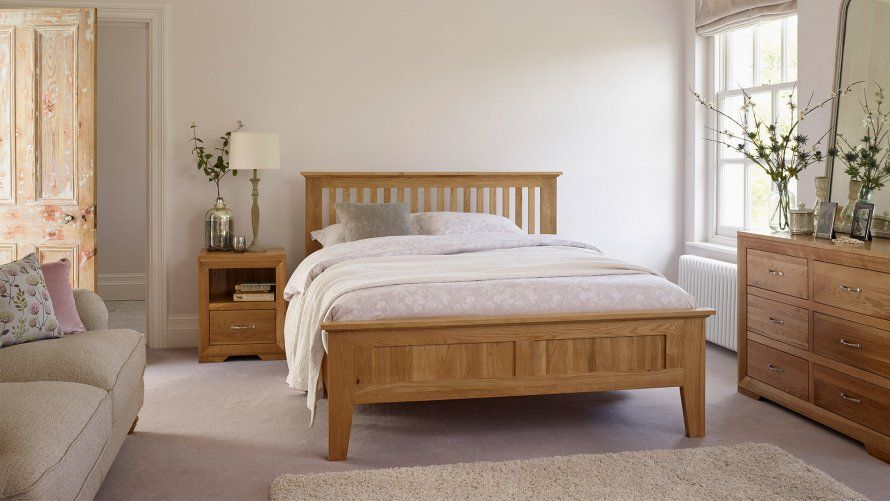 Oak Bedroom Furniture Beds Dressing Tables Chest Of Drawers