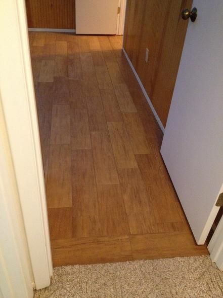 6x24 Exotica Oak Plank Tile Installed