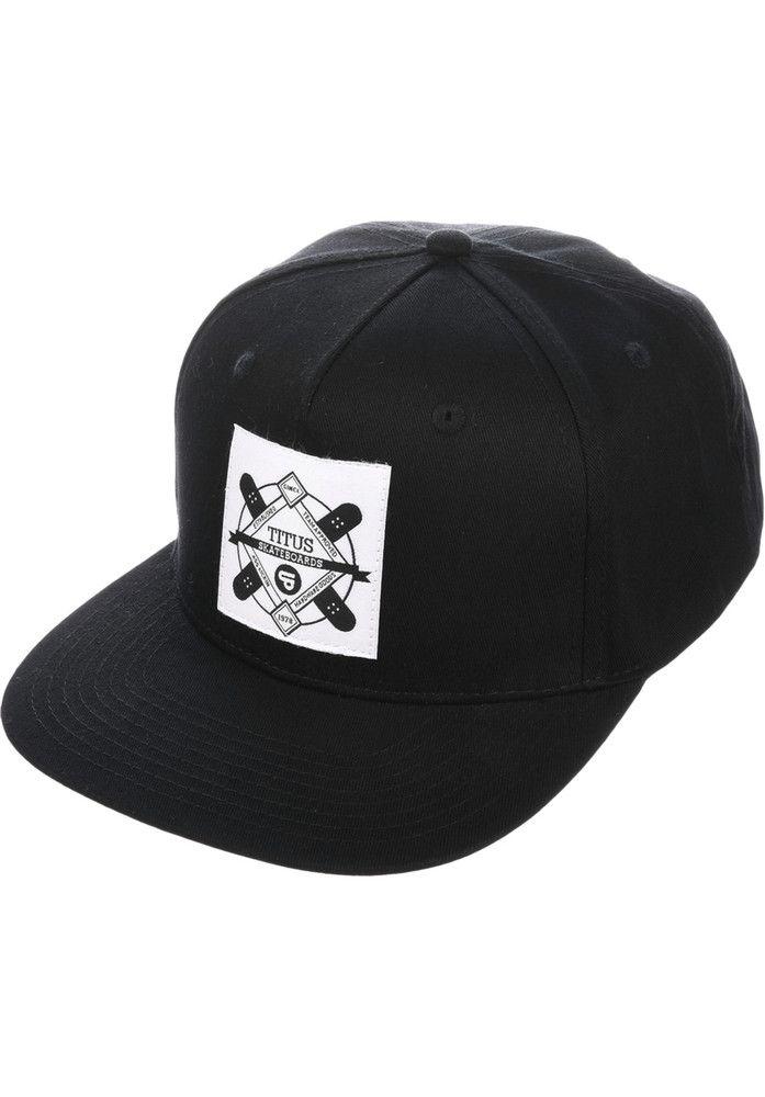 TITUS Emblem-Snapback - titus-shop.com  #Cap #AccessoriesMale #titus #titusskateshop