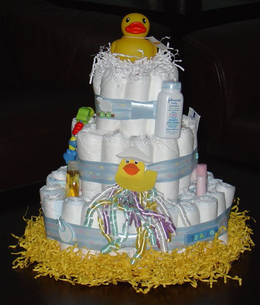 Unisex Diaper Cake Diaper Cake Diy Projects To Try Gifts For