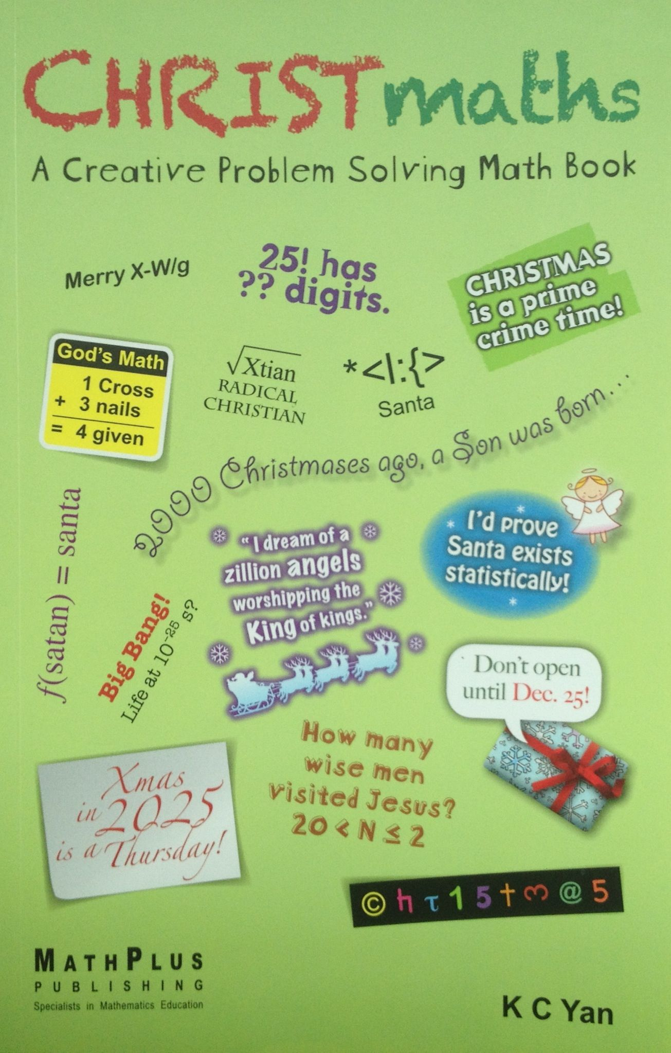 Christmas All Year Round For Numbers Lovers