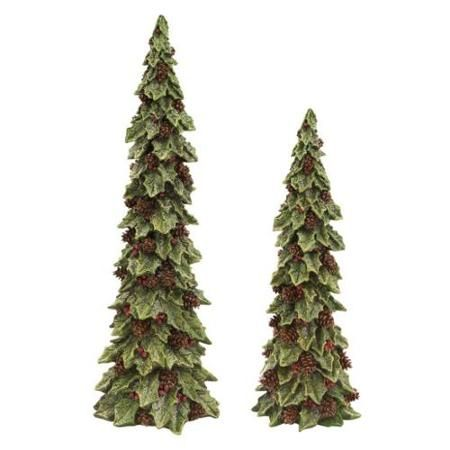 pack-of-2-glittered-holly-trees-with-pines-cones-christmas-table-top