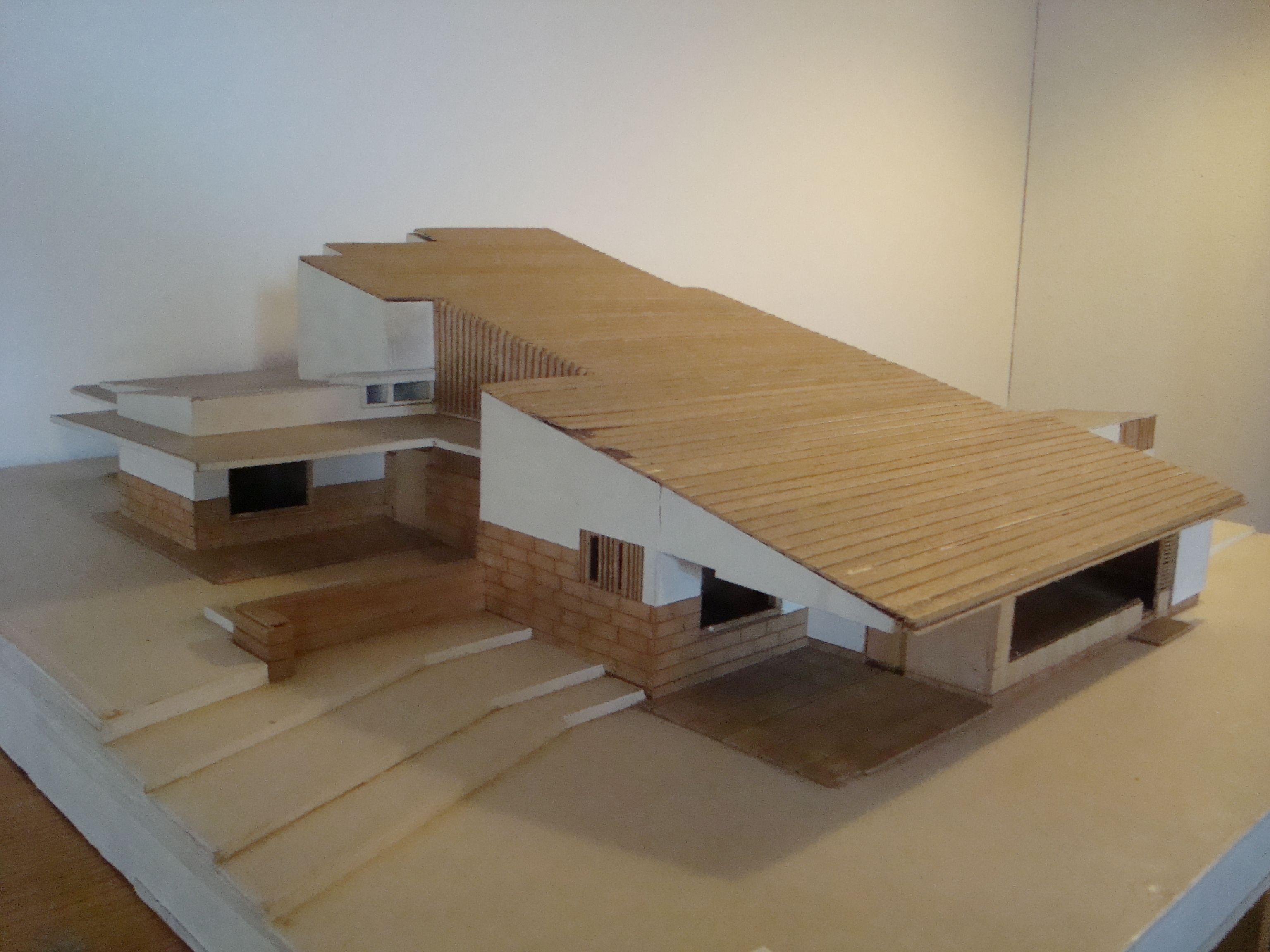 maison louis carr alvar aalto model architecture