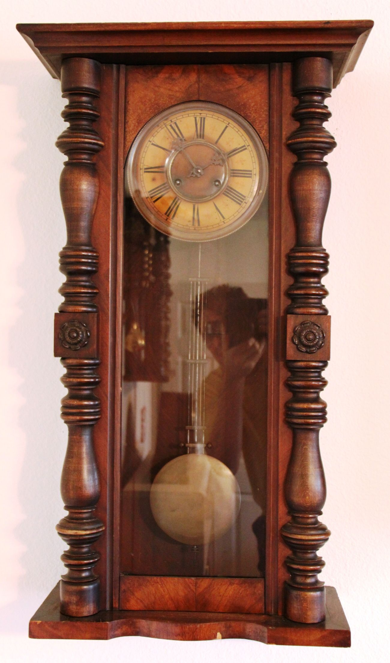 Old german wall clocks mantel clock say hi to the guy taking the photo do you have amipublicfo Images