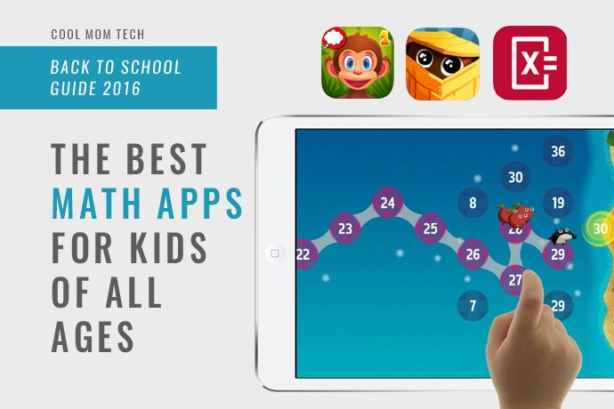 14 of the best math apps for kids of all ages: Back to School tech ...