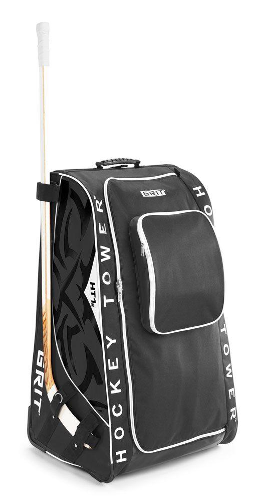 Grit Htse Tower Wheeled Hockey Bag 33 Inch Black