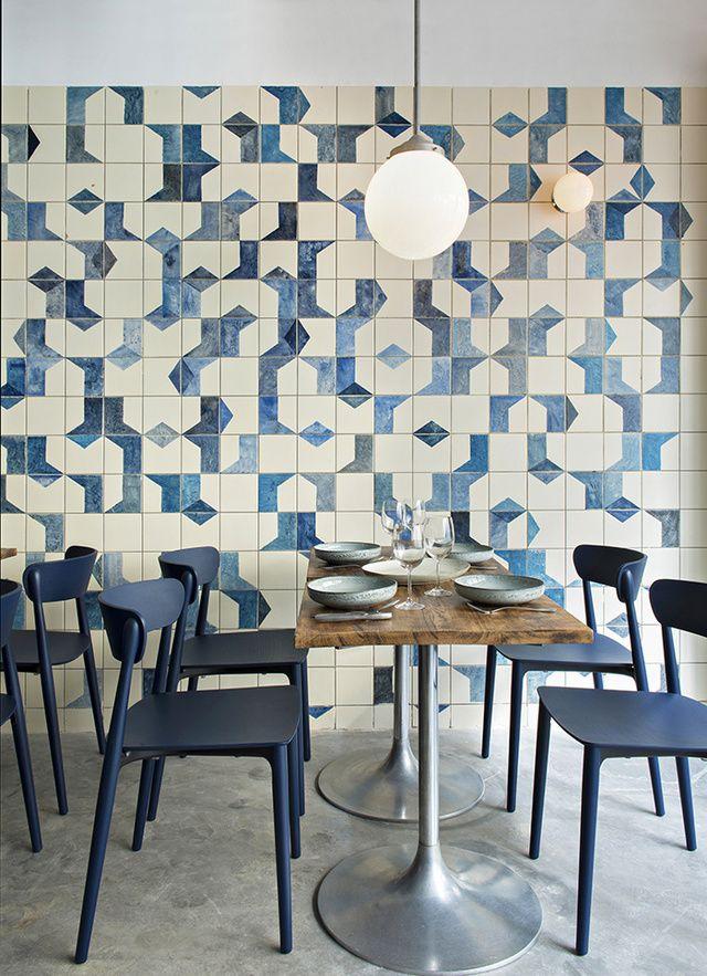 ces id es d co piquer aux restaurants deco restaurant design restaurant interior design. Black Bedroom Furniture Sets. Home Design Ideas