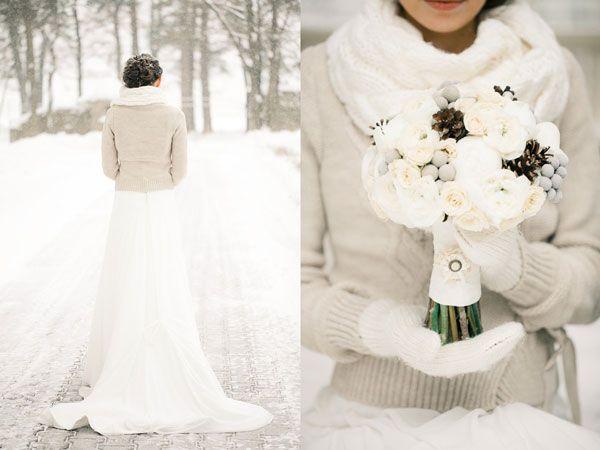 inspirations mariage d 39 hiver photo mari s mari es et hiver. Black Bedroom Furniture Sets. Home Design Ideas