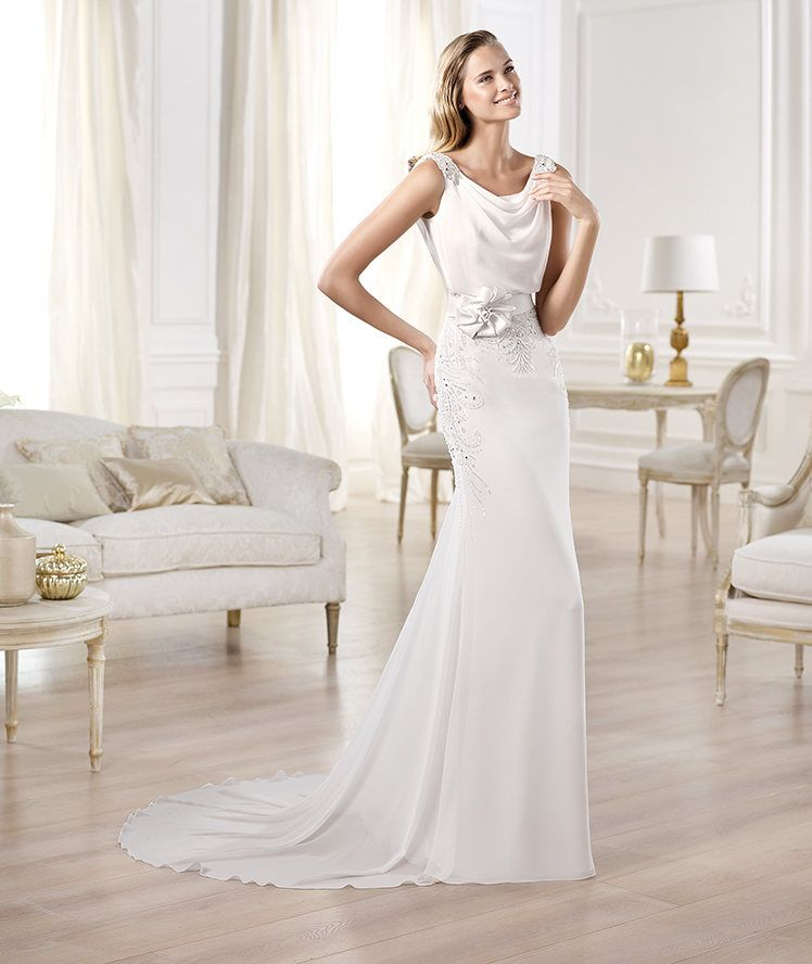 Pronovias presents the Olma wedding dress. Fashion 2014. | Pronovias ...