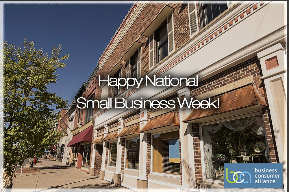 BCA Recognizes National Small Business Week May 1216