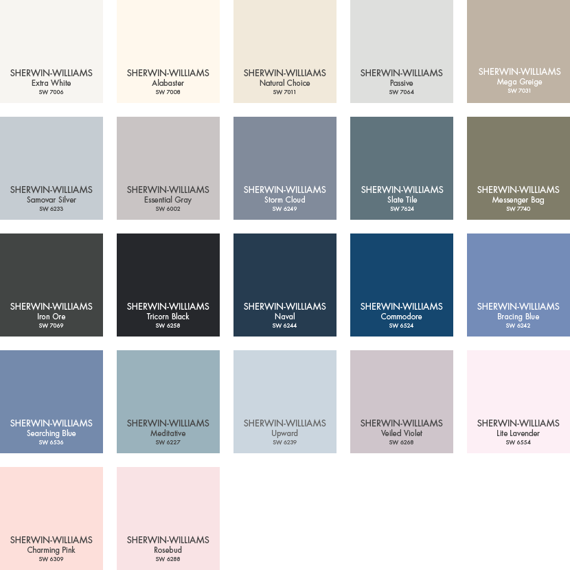 Pbteen Paint Colors From Sherwin Williams Pbteen Pottery Barn Paint Colors Sherwin Williams Color Palette Sherwin Williams Colors