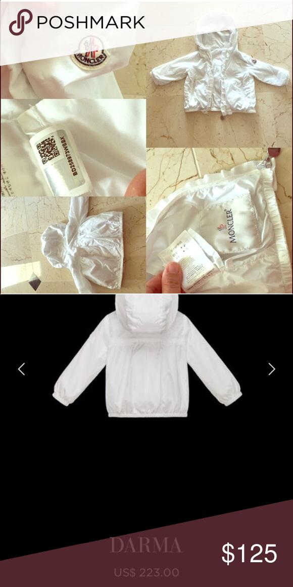 6fbc08742 AUTHENTIC Moncler Baby Girl DARMA jacket