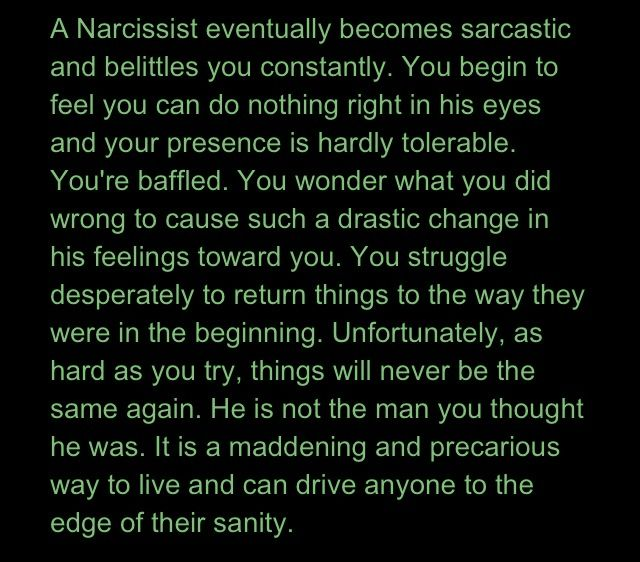 He I Crazy A Is Or Narcissist Am