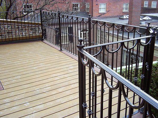 interior metal balcony railing designs - Google Search ...