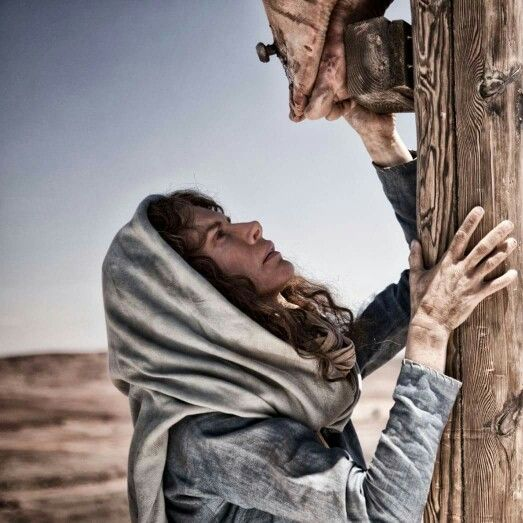 Mary at the foot of the cross of Jesus | Pictures of jesus christ ...